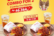 Promo Richeese Factory Special Combo For 2 Mulai Rp.46.364 Periode 20 Februari 2020
