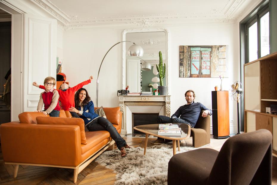Inspirações Mid Century Modern para sua sala de estar Casinha - moderne modulare kuche komfort