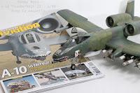 Maquette du A-10 Thunderbolt II 'Hobbyboss 1/48.