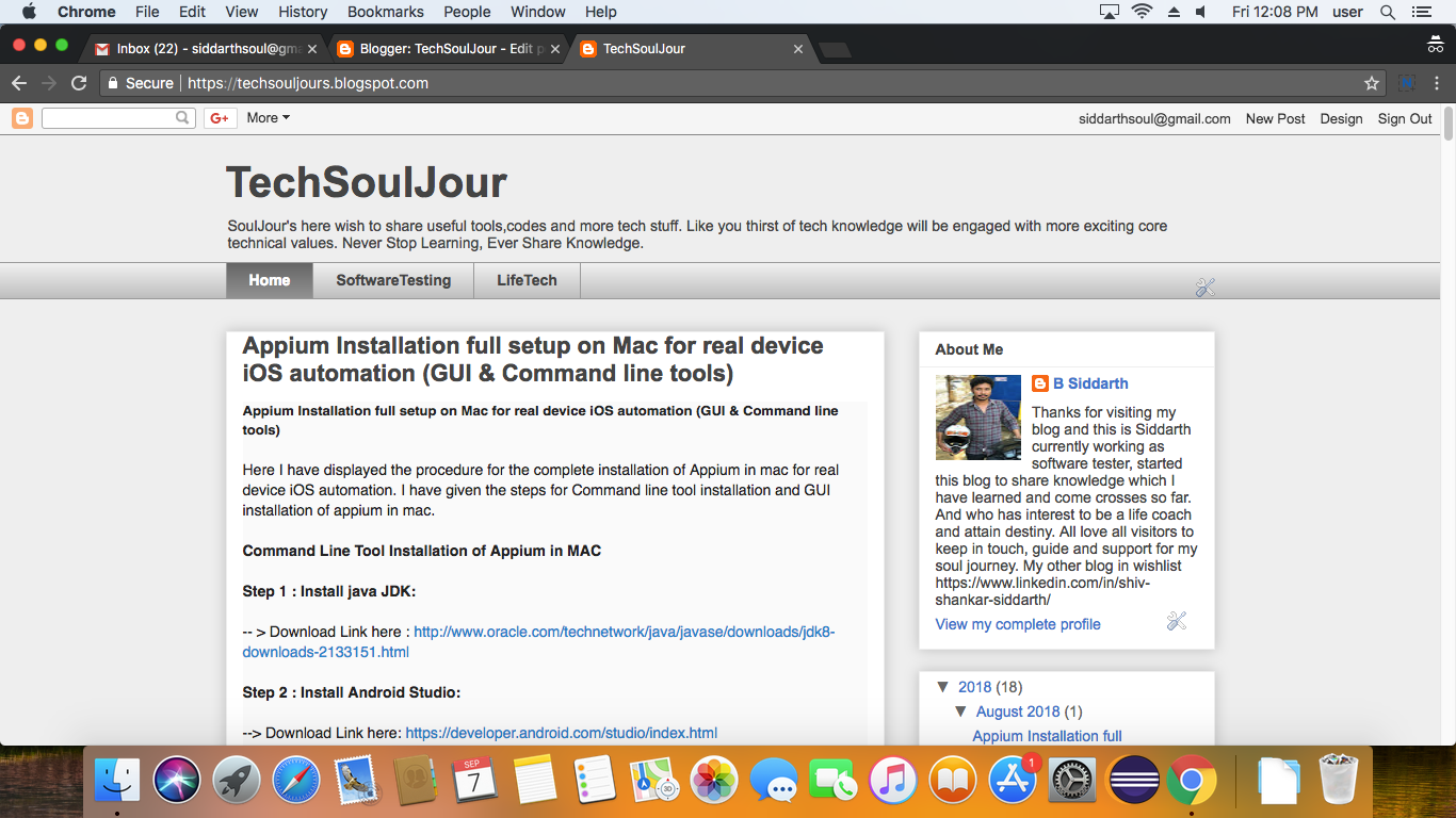 TechSoulJour: Page Performance testing with HTML report