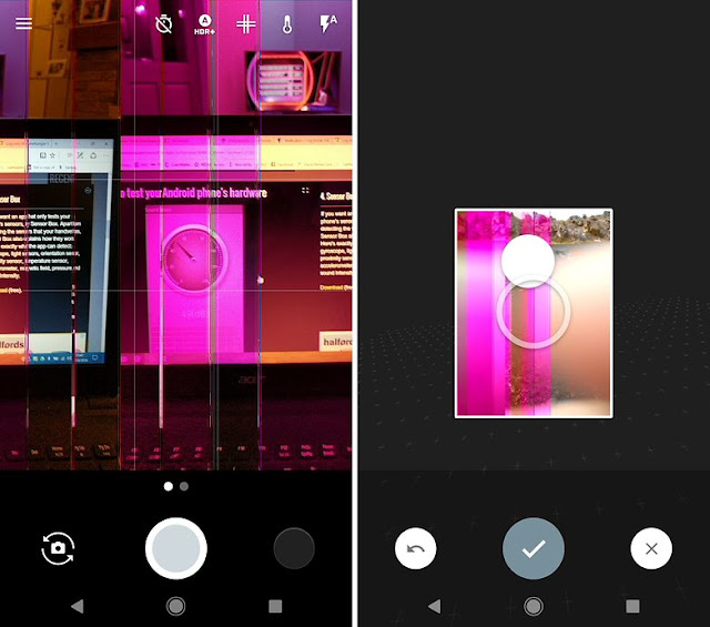 #pinkpixel occurs after the start of the pixel camera.