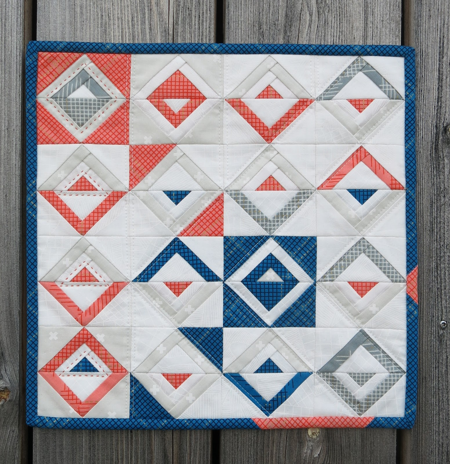Paper Piecing Quilt Patterns Log Cabin : quilt-along
