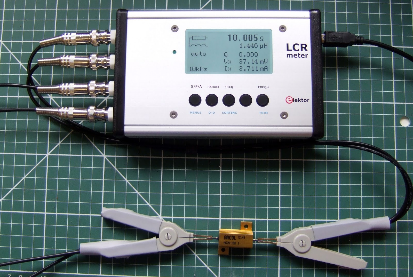 Iv Lcr Measurement For High Impedance Circuits