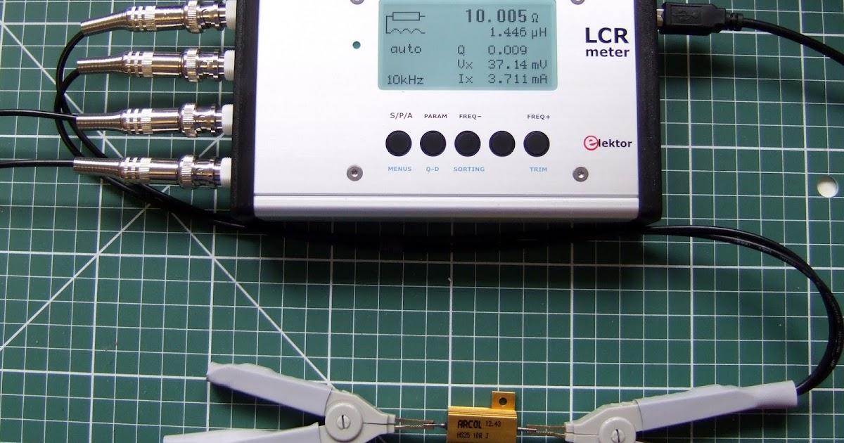 Using An Lcr Meter : Hydraraptor elektor ppm lcr meter case tips