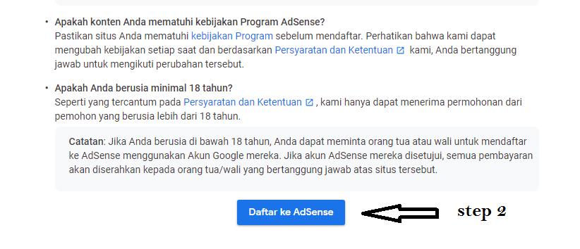 5+ Cara Daftar Google Adsense Agar Mudah Di Terima