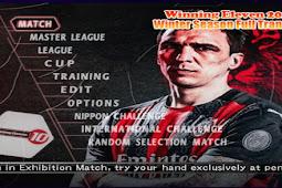 Winning Eleven 2021 Winter Season Full Transfer PS2 ISO