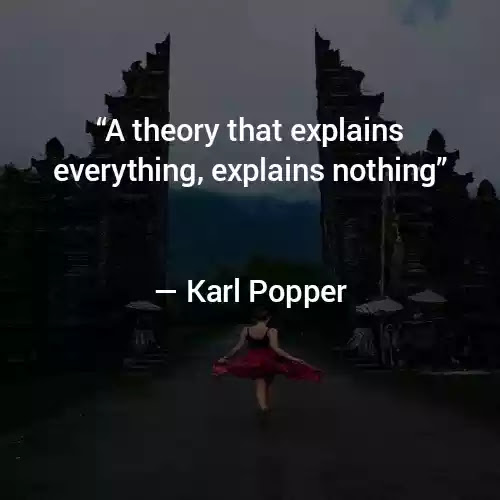 Quotes of Karl Popper