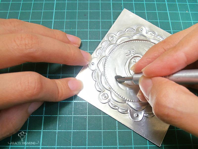 herramientas para repujado en aluminio ruleteros textura