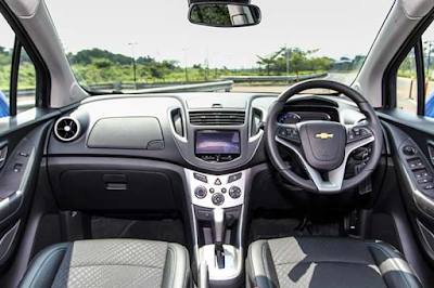 Interior Dashboard Chevrolet Trax Prefacelift