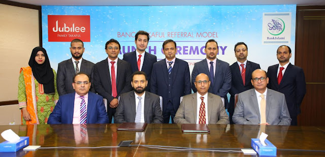 Bank Islami Partners With Jubilee Life(Window Takaful Operations)To Introduce Referral Model For Takaful Sale
