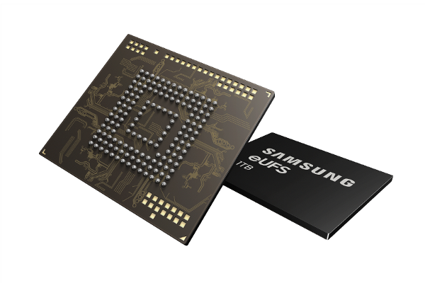 SAMSUNG debuts World's first 1TB flash storage (eUFS 2.1) for smartphones