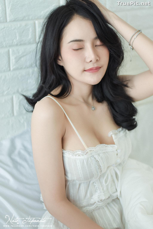 Image Thailand Model - Nattanicha Pw - Beautiful In White Sleepwear - TruePic.net - Picture-8