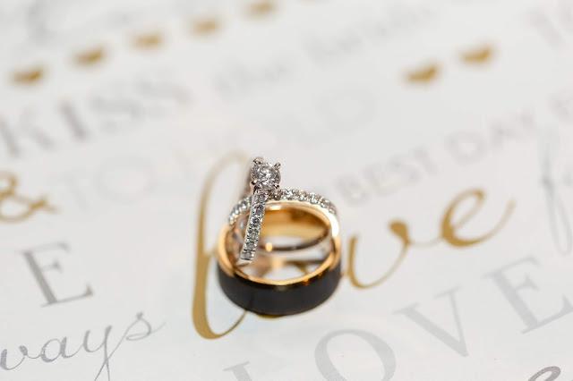 Wedding Rings at Shenandoah Mill by Micah Carling Photography
