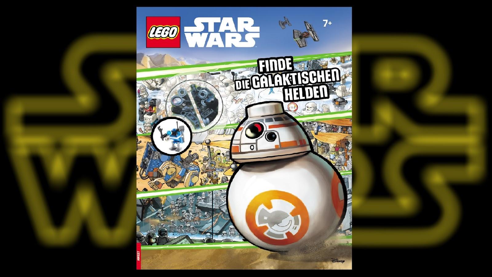 Recenzja Lego Star Wars Finde Die Galaktischen Helden świat