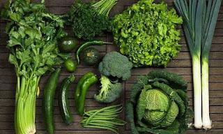 Yeşil Sebzeler Sayesinde Zinde Kalın