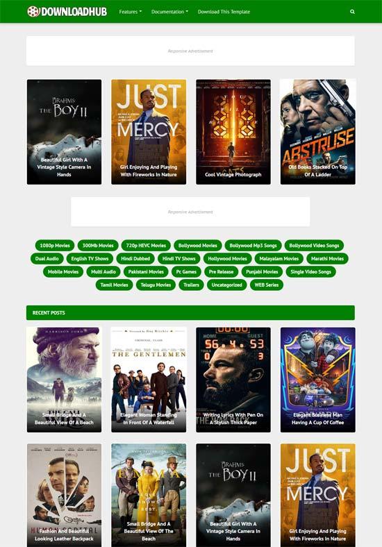 Blogger Tema-Download Hub
