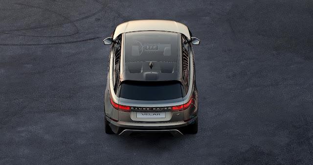 Range Rover Velar teaser