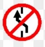 compulsory turn left