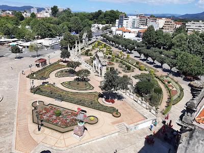 Jardim das Barrocas em Barcelos