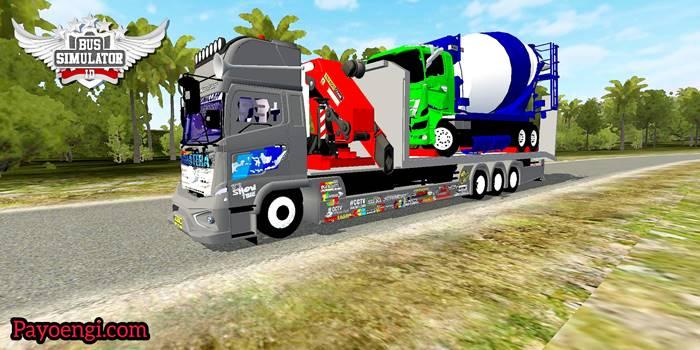download mod hino 500 tribal muatan truk hino rusak
