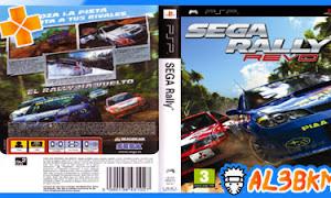 تحميل لعبة Sega Rally Revo psp بحجم صغير لمحاكي ppsspp