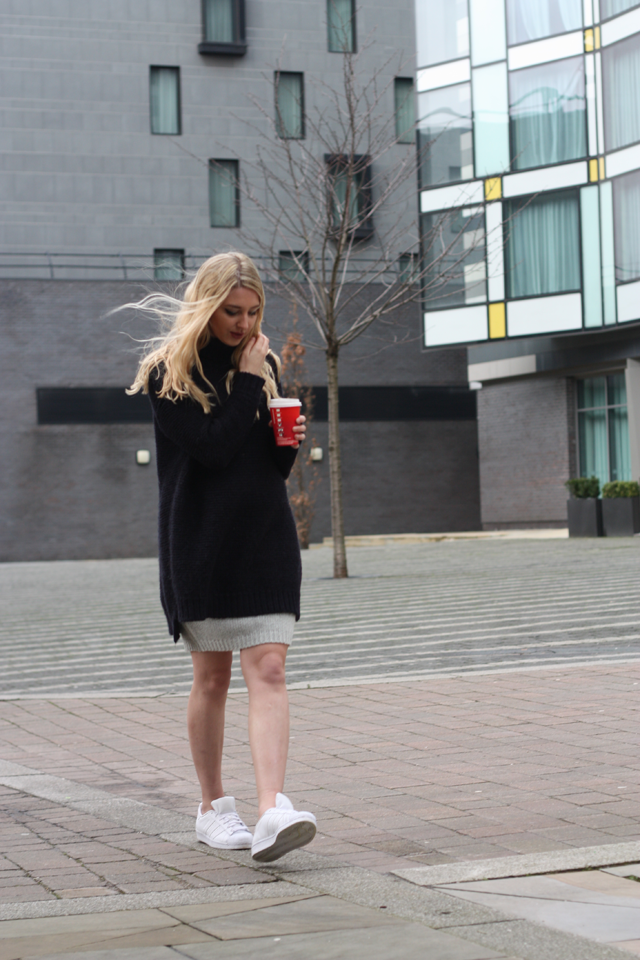 how to style oversized knitwear fashion blog