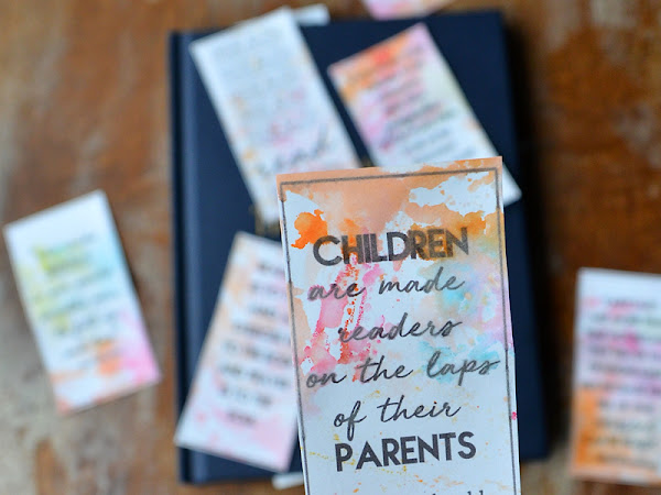 Free Printable Modern Bookmarks with Reading Quotes