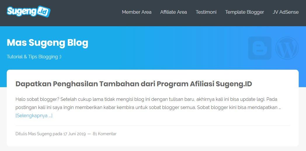 Situs,panduan,ngeblog,sugeng.id