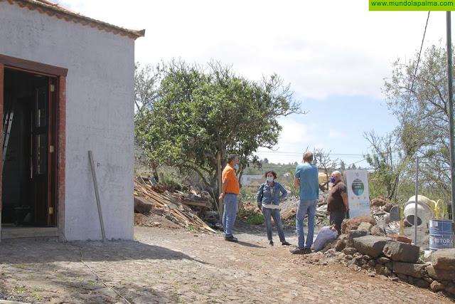 La creación del Centro de Usos y Costumbres Tradicionales de Puntagorda avanza a buen ritmo