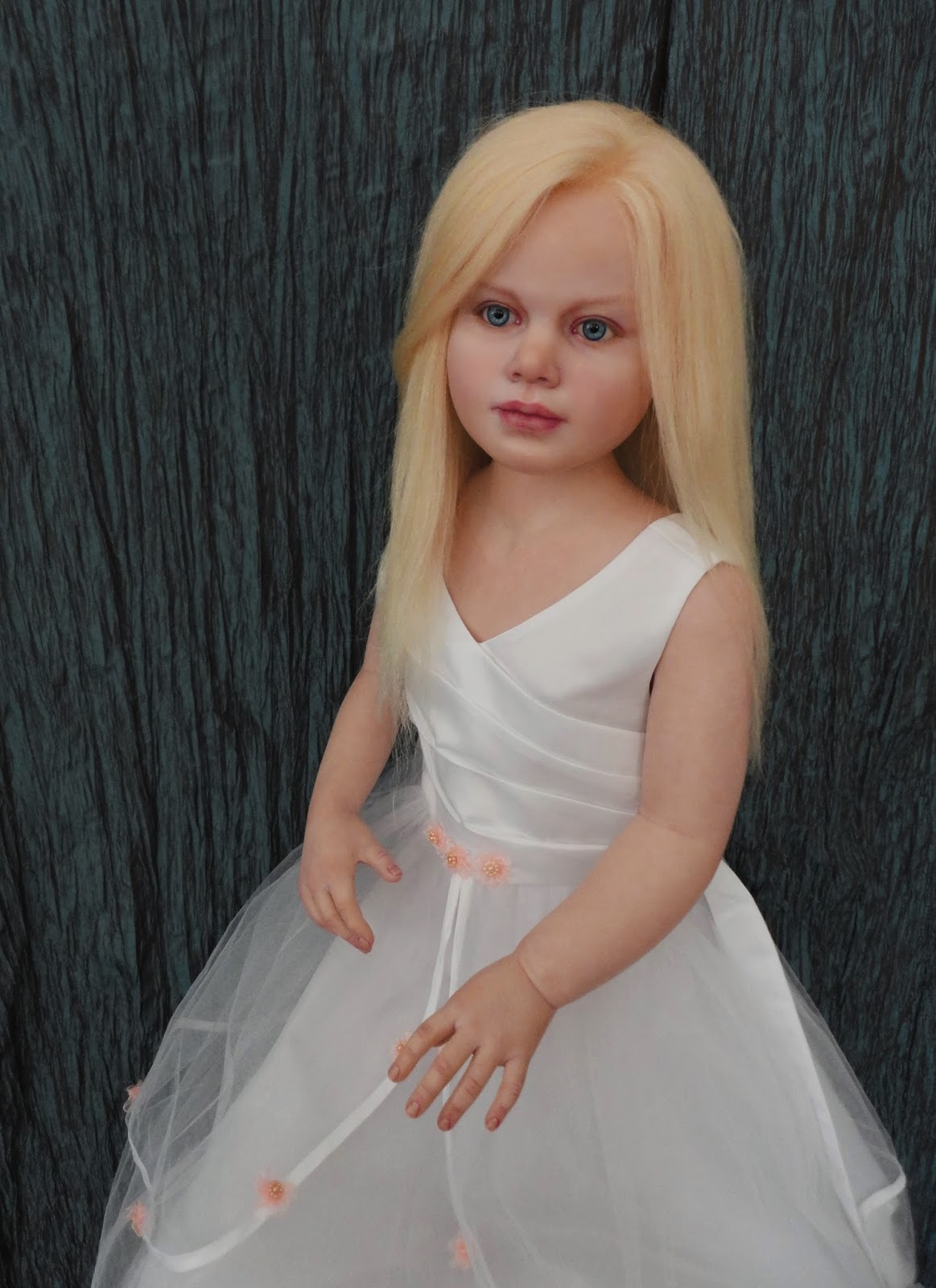 Anyas Originals Reborns And Ooak Art Dolls New  Gabriella  Lifesize Reborn Doll-1264
