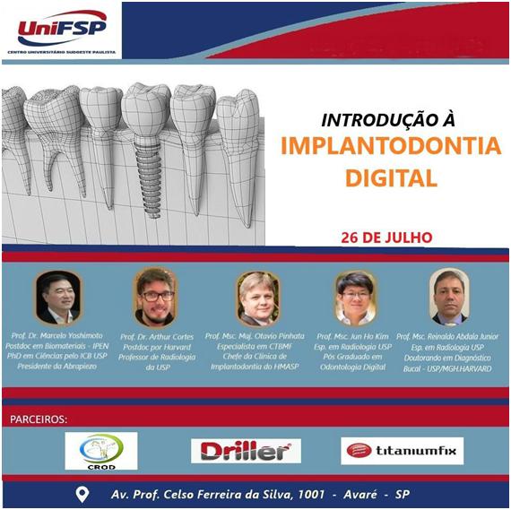 Unifsp lança Curso de Fluxo Digital, Simplificando a Implantodontia