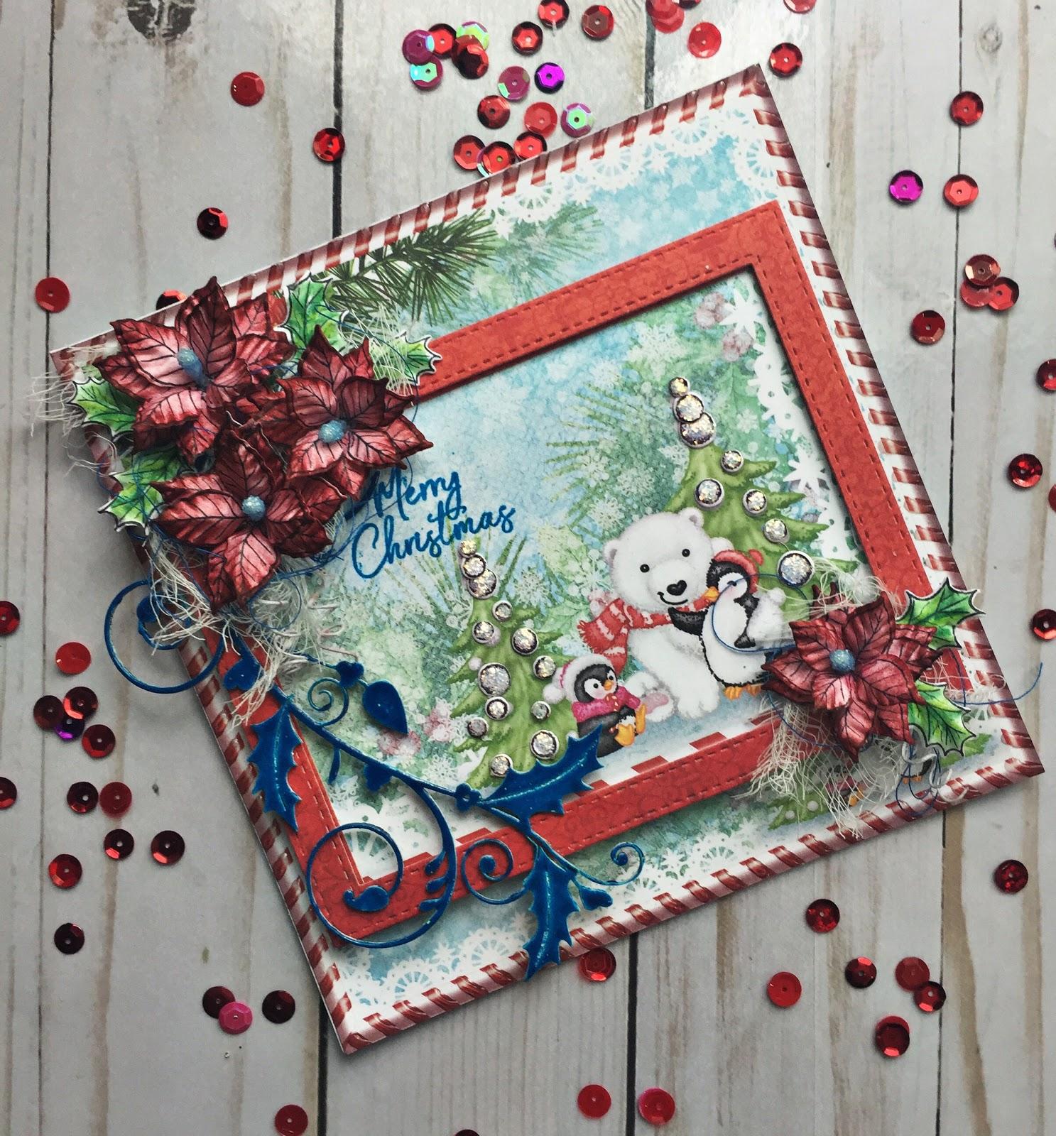 Le Blog de Plumo: Une autre carte de Noel