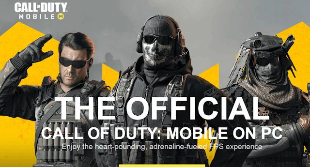 طريقة تحميل لعبة Call Of Duty Mobile على الحاسوب.