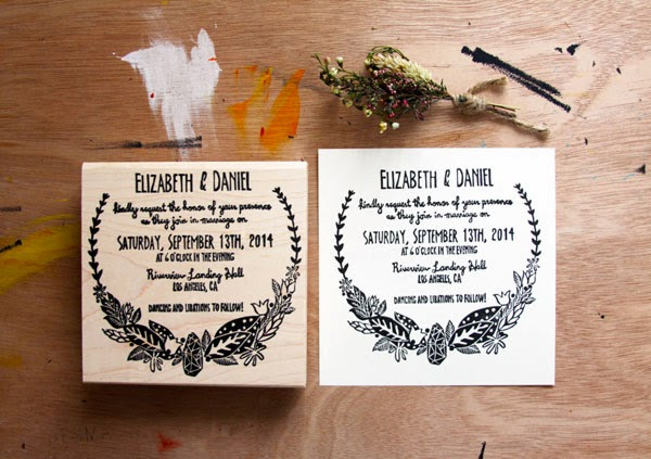 Wedding Invite Stamp: 21 Wedding Stamps For Your Wedding Stationery
