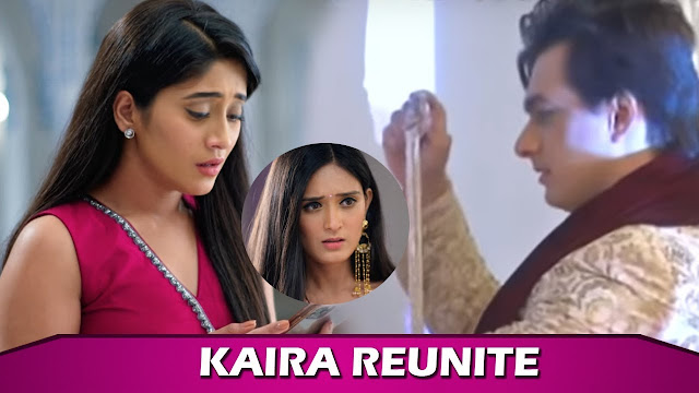 After Major Drama Vedika wishes happy married life leaves Kartik Naira's house in YRKKH