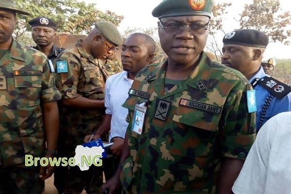 7 Things To Know About The New Chief Of Army Staff - Major-General Yahaya Farouk