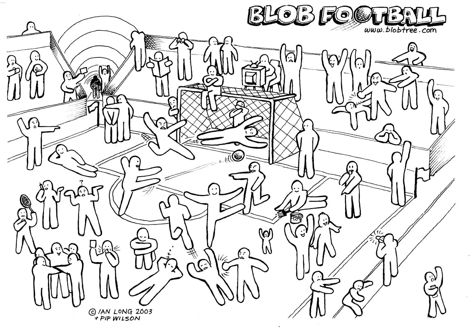Blob Football Met Afbeeldingen