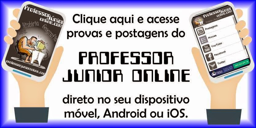 Professor Junior Online no seu dispositivo móvel