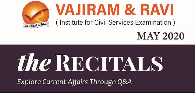 Vajiram Current Affairs May 2020