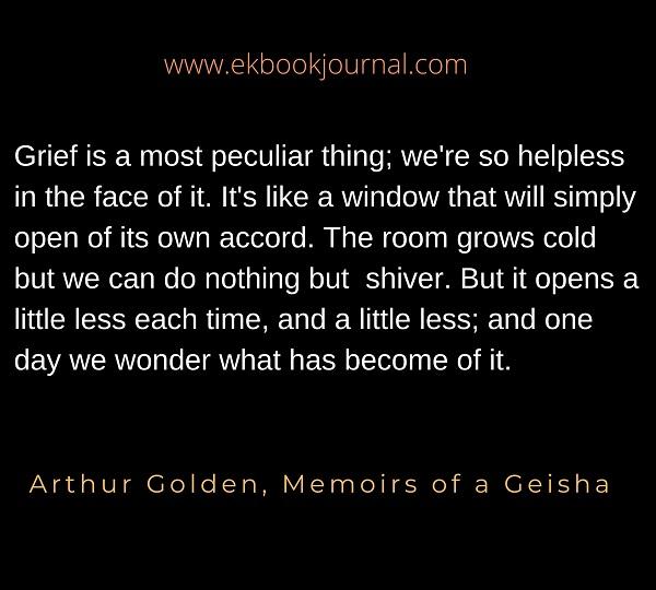 Memoirs of Geisha Quote