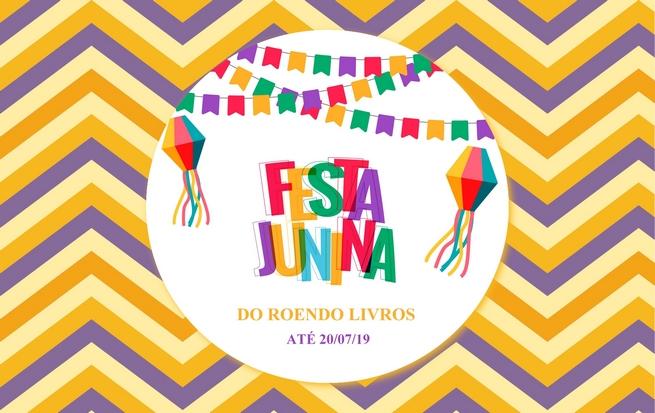 Promoção: Festa Junina do Roendo Livros