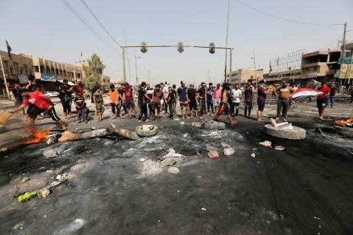 Registran al menos 11 muertos durante protestas en Irak