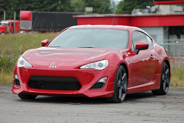 Scion FR-S with Five Axis goodies