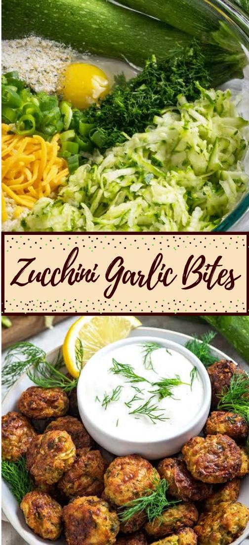 Zucchini Garlic Bites #healthyfood #dietketo #breakfast #food