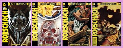 portada del cómic Rorschach, de Azzarello y Bermejo