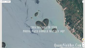 CHIA SẺ CODE TỎ TÌNH PHONG CÁCH GOOGLE MAP CỰC ĐẸP