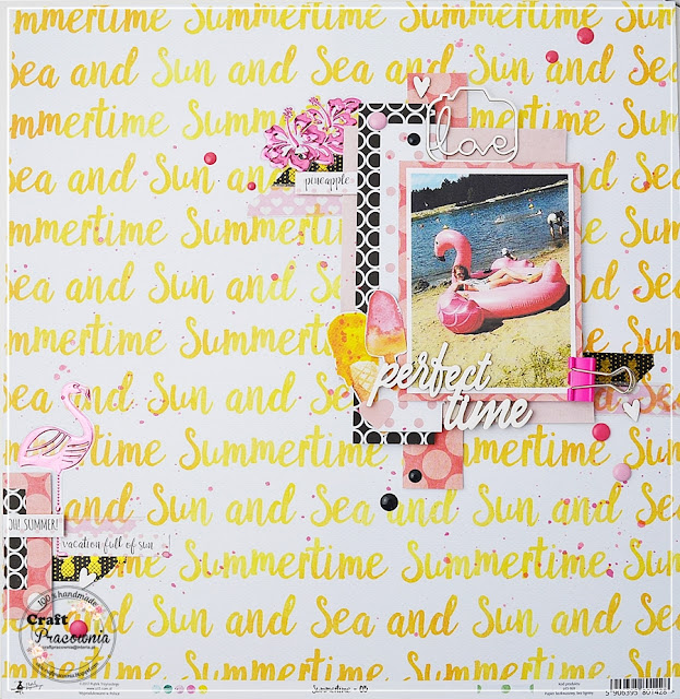 "Layout ""Sun and sea"""