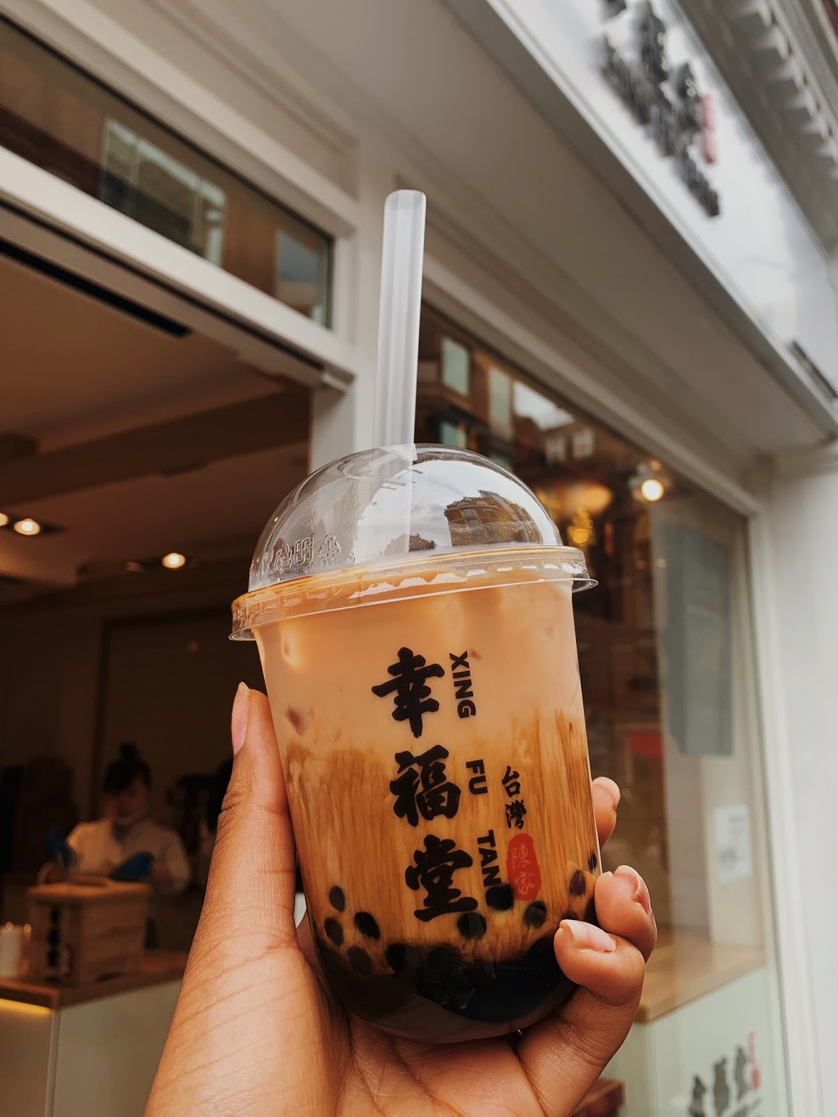 Bubble tea from Xing Fu Tang in London Chinatown