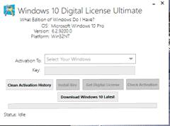 Windows 10 Digital License Ultimate v1.3 Premium afolele.com