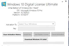 Windows 10 Digital License Ultimate v1.3 Premium